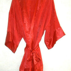 Victoria's Secret Red Robe Size One Size  NWOT